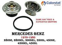 Engine Coolant Thermostat For MERCEDES R107 W108 W109 CAROLSTAT / VERNET