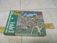 VTG Revell Plastic Model Kit 1/72 Figures 2517 US Para-Troopers Soldiers WWII