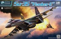 Kitty Hawk 80142 1/48 Su-35 Flanker E  Assembly model New