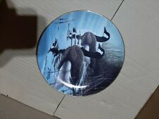 """Pause from the Journey Goose Plate By Derk Hansen 8.5"""" plate limited edition"""