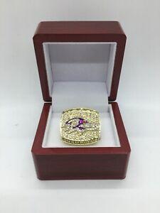 2000 Baltimore Ravens Ray Lewis Super Bowl Championship Ring Set with Box
