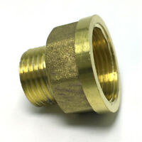 """1/2"""" Male x 3/4"""" Female Thicken Brass Thread Adapter Connector Pipe Fitting"""