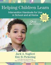 Helping Children Learn : Intervention Handouts for Use in School and at Home,...