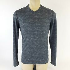 Adidas Men's Small Tech Fit Team Issue Long Sleeve Shirt Fitted Gray Heathered