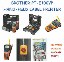 Brother PT-E100VP Impresora de etiquetas de mano