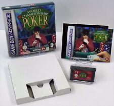 Nintendo Game Boy Advance GBA - World Championship Poker + Anleitung + OVP