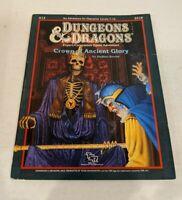 Crown of Ancient Glory D&D Expert/Companion Game Adventure X13 TSR Inc. 1987