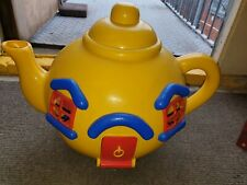 Blue Bird Yellow Tea Pot Dolls House Play Set