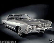 1963 Buick Riviera Dealer press photo 8 x 10