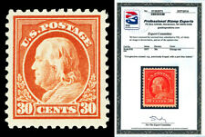 Scott 516 1917 30c Franklin Perf 11 Issue Mint VF LH Cat $27.50 with PSE CERT!