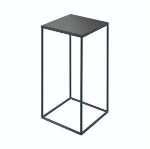 Notre Monde Compact Charcoal Square Side Table RRP £189 Now £113