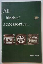 RANGE ROVER CLASSIC orig 1994 UK Mkt Accessories Brochure