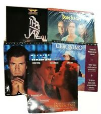 Laser Disc Movie 5 disc joblot, collection. lot sold as is. Bundle, some AC3.