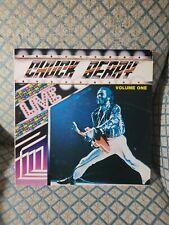 "Chuck Berry Live Volume One 1984 AUS VG+ [Vinyl - 12""] AX 260165 Axis Records"