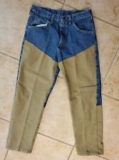 VTG Wrangler Mens 34 x 30 Rugged Wear Outdoor Brush Guard Jeans Free Shipping