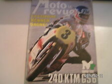 ** Moto revue n°2362 1000 OCR Van Veen / Super Test 240 KTM GS6 / Scorpion