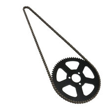 Motorbikes 68T Rear Sprocket & 68 Links Chain for 49cc Mini Pocket Bike