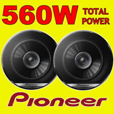 PIONEER 560W TOTAL DualCone 6.5 INCH 17cm CAR DOOR/SHELF COAXIAL SPEAKERS PAIR
