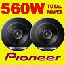 PIONEER 560W TOTAL DualCone 6.5 INCH 17cm CAR DOOR/SHELF COAXIAL SPEAKERS PAIR