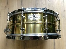 "Pearl Sensitine Brass Snare 14""x5,5"""