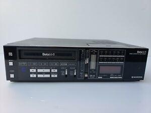 SANYO VCR 7200 B BETAhi-fi