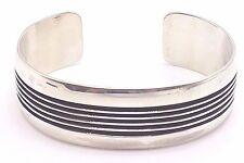 Handmade Bracelet-Ray King Sterling Silver Navajo