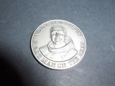 Apollo 11 1st Man On The Moon Neil Armstrong Coin Medal NASA Space Affer