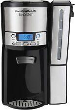 Hamilton Beach (47950) Coffee Maker with 12 Cup Capacity Internal Storage Coffee