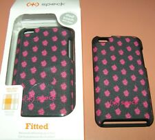 Speck Fitted hard shell case iPod touch 4th Gen, Fabric covered snap together
