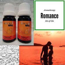 Romance Essential Oil Blend Aromatherapy Kit - Sensual & Seduce Blends 12mL