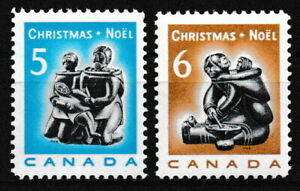 Kanada - Weihnachten 2 Marken postfrisch 1968 Mi. 430+431