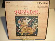 Puccini Turnandot Nilsson, Tebaldi, Bjoerling, Tozzi LSC-6149 RCA Victor