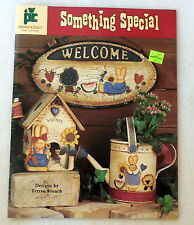 SOMETHING SPECIAL Terrye French Painting patterns instruction book New