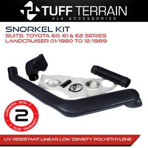 Tuff Terrain Snorkel Kit Fits Toyota Landcruiser 60 Series 80 to 89 2F 3F 12HT