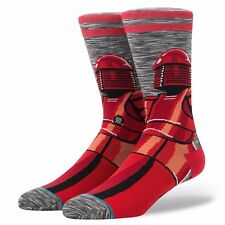 STANCE MENS STAR WARS SOCKS.RED GUARD ELITE PRAETARIAN SIZE LARGE UK 8.5-11.5