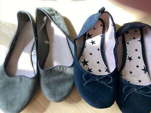Womans Shoes Flats Size 2