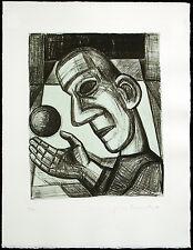 """DDR-arte. """"la vita è sogno"""", 1989. Nuria Quevedo (* 1938 U/D) firmato a mano"""