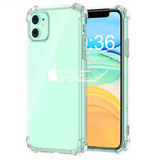 "Funda Silicona AntiShock para IPHONE 11 (6,1"") Carcasa Gel Transparente i515"