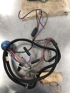 NOS Original Triumph Tigress BSA Light Switch Wiring  Harness