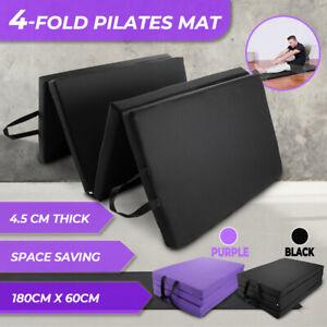 4-fold Gymnastic Mats Folded Exercise Gym Mat Floor Dance Fitness Yoga Pilates
