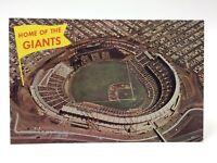Home Giants Candlestick Park San Francisco Unposted Written On Postcard E468x