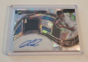 R69,129 - 2021 Select Cracked Ice Rookie Auto Patch Jazz Chisholm #14/25