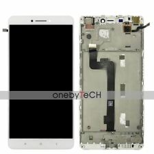"""New For  6.44"""" White Touch Lcd Display Assembly W/Frame For Xiaomi MI Max"""