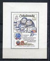 33368) Czechoslovakia 1979 MNH Intercosmos S/S