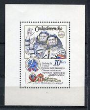 33368) CZECHOSLOVAKIA 1979 MNH** Intercosmos S/S
