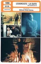 FICHE CINEMA : L'EXORCISTE LA SUITE - Scott,Blatty 1990 The Exorcist III