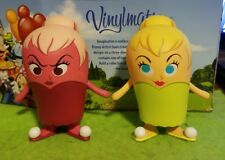 "DISNEY Vinylmation 3"" Park Set 1 Popcorn Tinker Bell Variant and Regular Lot"