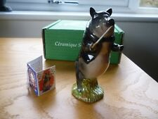 "Beswick Pig James 4"" Missing His Musical Instrument But He Is In Tact. Pottery & China"
