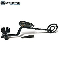 Bounty Hunter LONEGWP Lone Star Metal Detector with Touch-Pad & Pin Pointer New