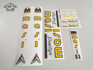 MASI PRESTIGE early 80s decal set sticker complete bicycle FREE SHIPPING